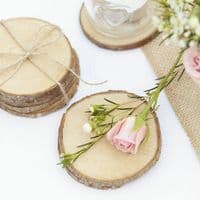 Mini Wooden Slices 5pk